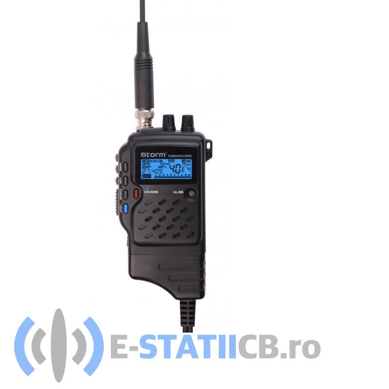 Statie Radio Portabila Storm Turboexplorer