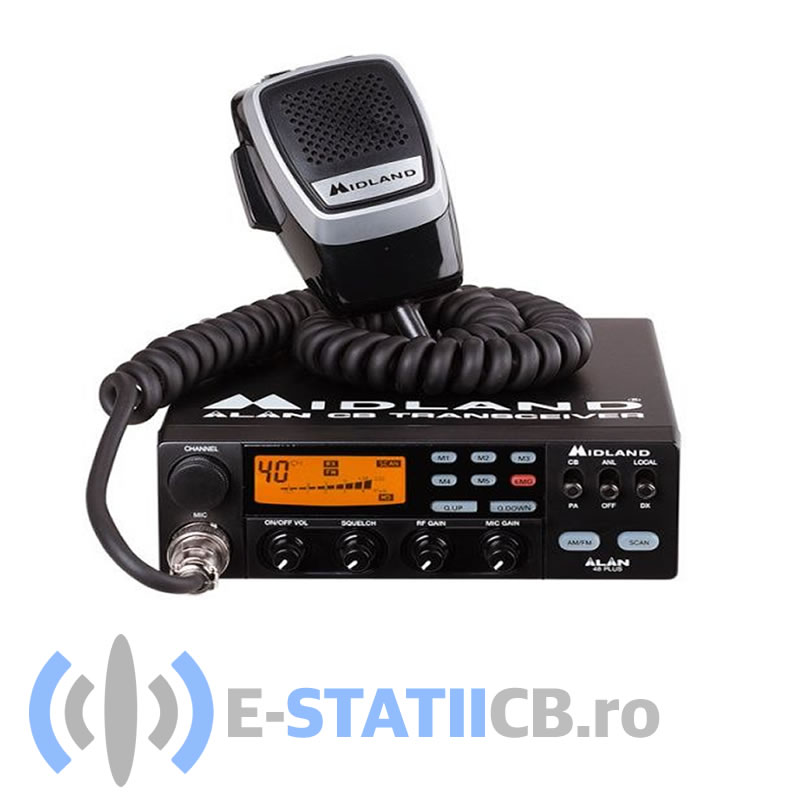 Staţie radio CB Midland Alan 48 Plus Multi
