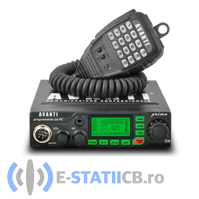 Statie radio CB Avanti Primo 20W resigilata