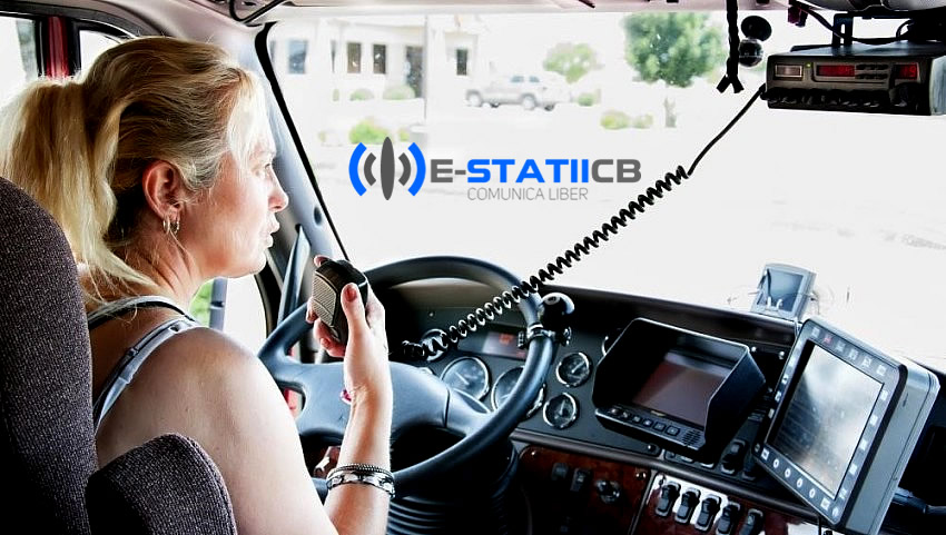Vorbeste la statia radio in TIR