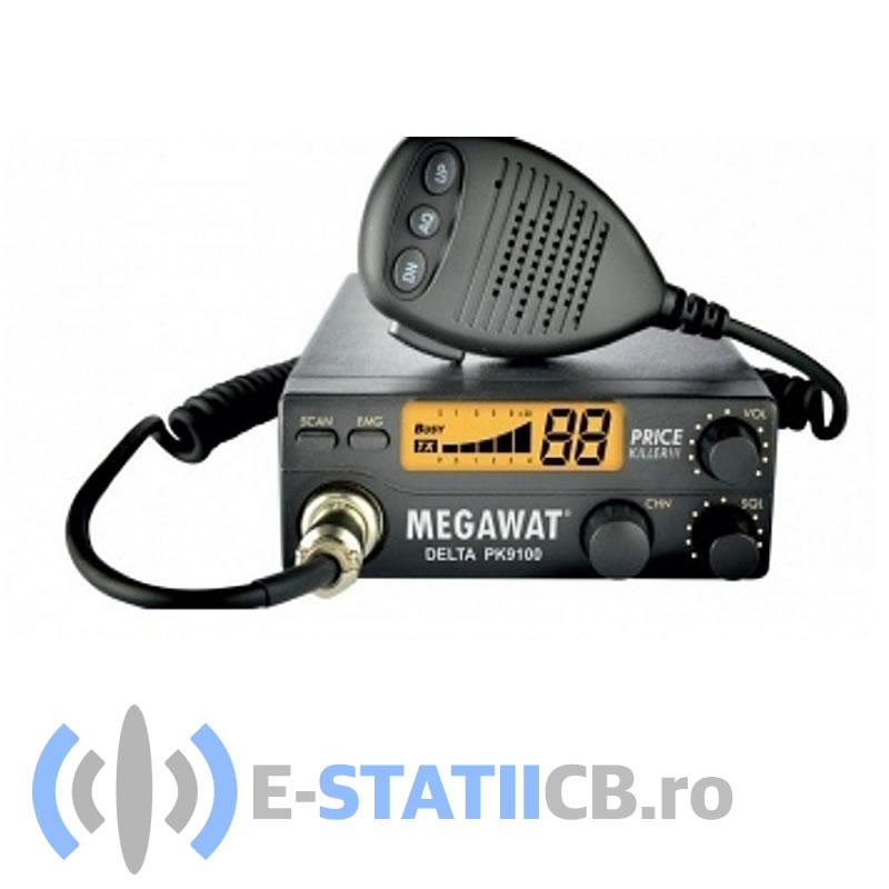 Statie Radio CB Megawat Delta PK9100