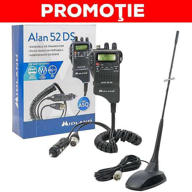 Statie radio CB Midland Alan 52